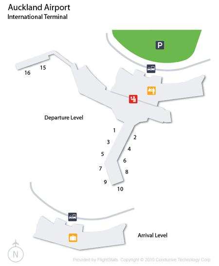 Auckland Airport International Terminal
