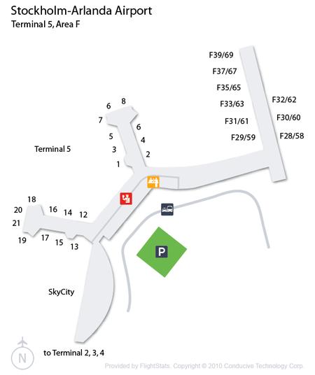 Stockholm-Arlanda Airport Terminal 5