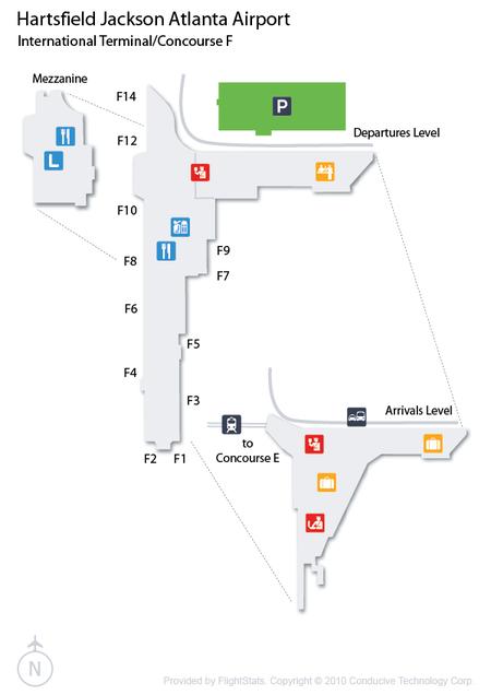 Hartsfield–Jackson Atlanta International Airport Concourse F