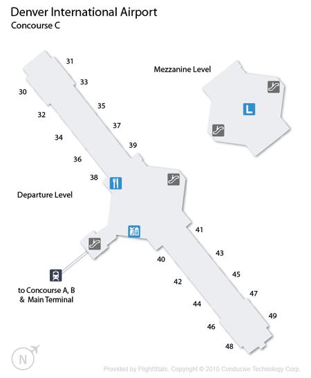 Denver International Airport Concourse C