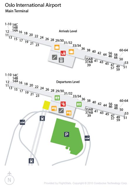 Oslo Airport Terminal