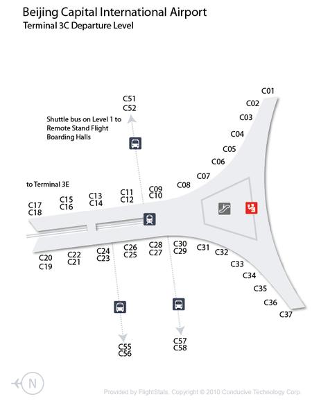 Beijing Capital International Airport Terminal 3C