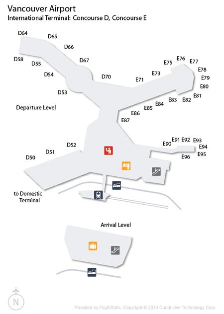 Vancouver Airport International Terminal