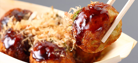 Takoyaki – a popular street food in Japan