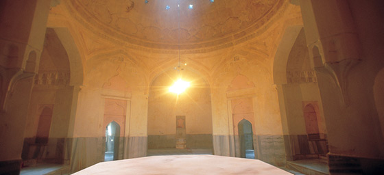 A traditional Turkish Bath (Hammam)