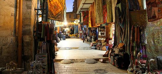 A Jerusalem souk in Israel
