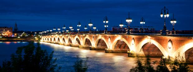 Bordeaux France - Pont de Pierre