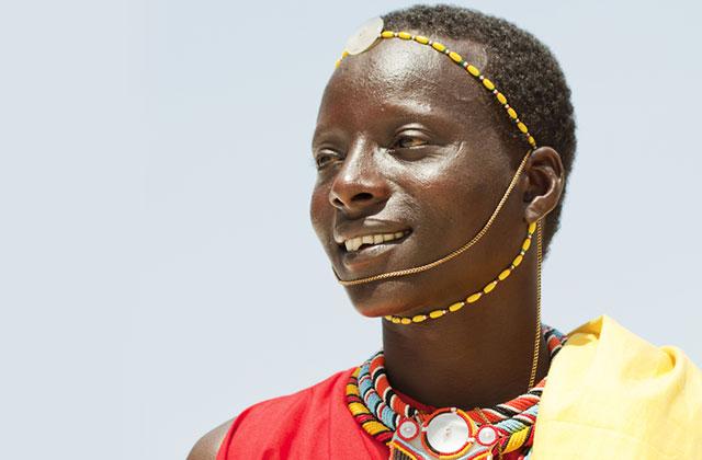 Traditional Maasai Dress