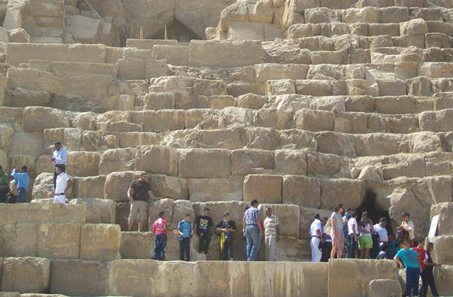 Scaling the Great Pyramid, Egypt |by Flight Centre's Katrina Imbruglia
