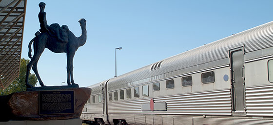 Alice Springs: The Ghan