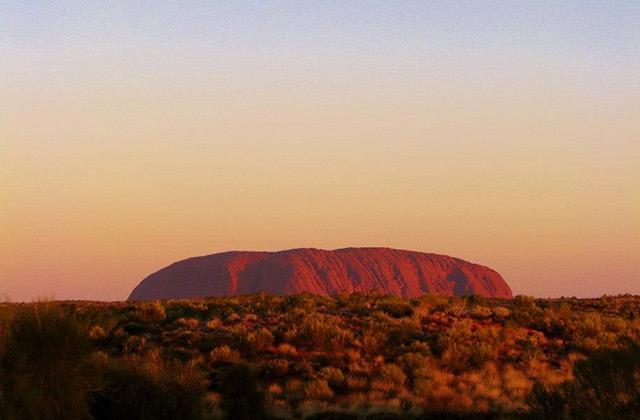 Uluru / Ayers Rock at Sunset