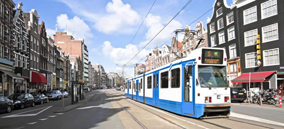 Amsterdam: City Trams