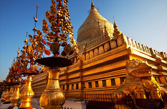 Golden Temple, Yangoon, Myanmar