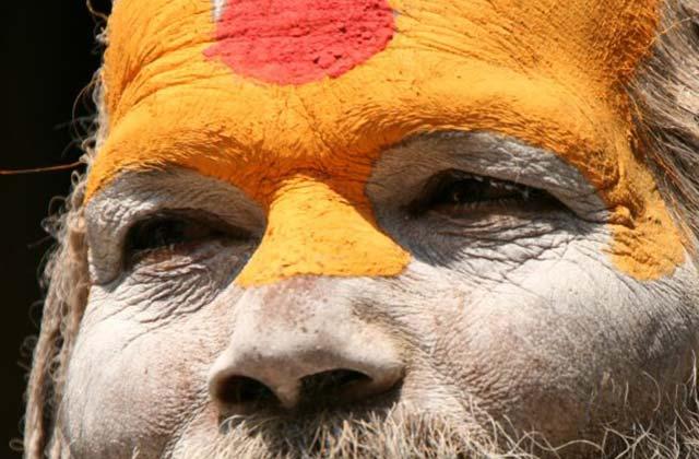 Hindu Priest, Kathmandu, Nepal