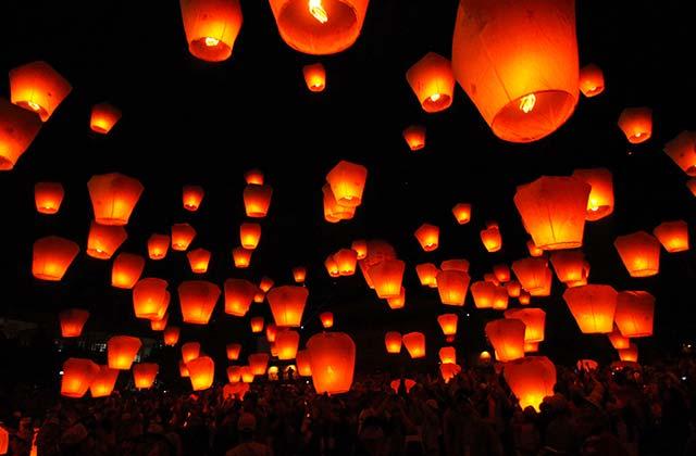 Lanterns, Taiwan