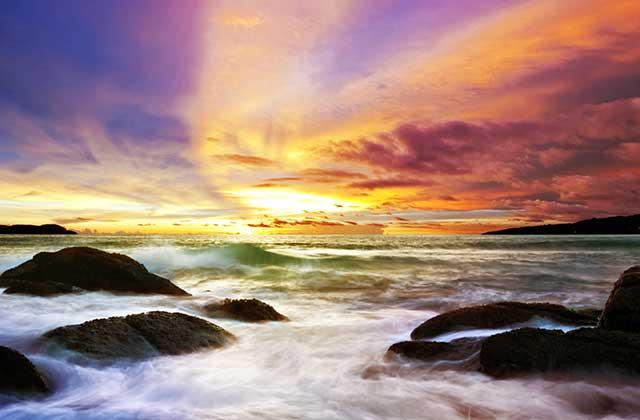 Beautiful Seascape, Thailand