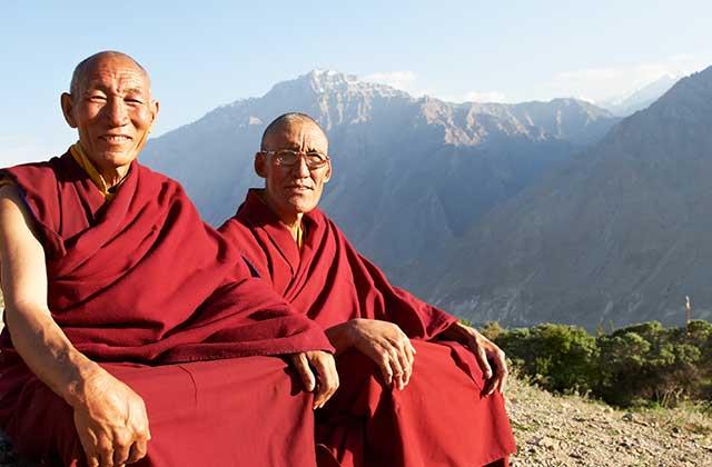 Tibetan Monks, Tibet