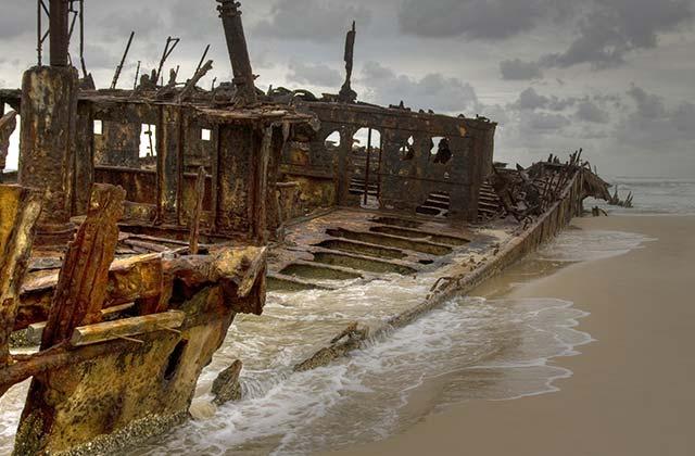 Maheno Wreck, Fraser Island, Queensland