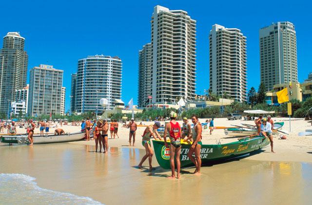Surf Life Saving Carnival, Gold Coast, Queensland