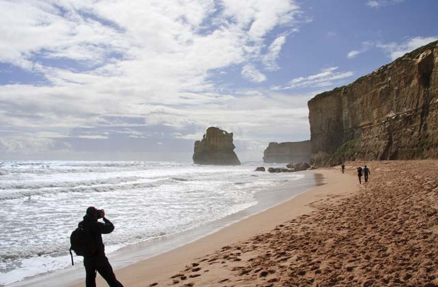 Limestone Cliffs, The Great Ocean Road, Victoria
