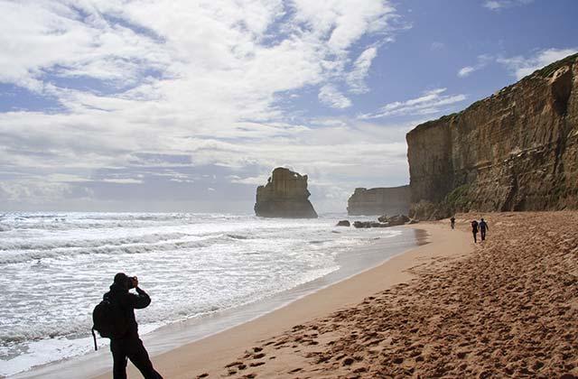 Limestone Cliffs, The Great Ocean Road, Victoria