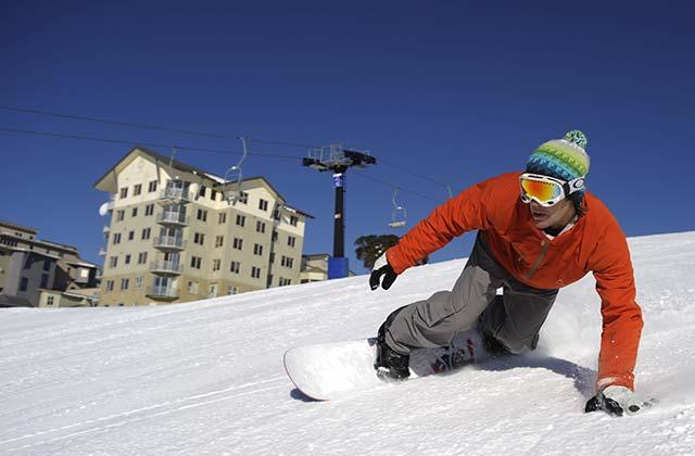 Snow Boarding, Mt Hotham, Victoria