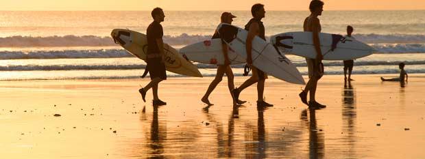 Bali Travel - surfers
