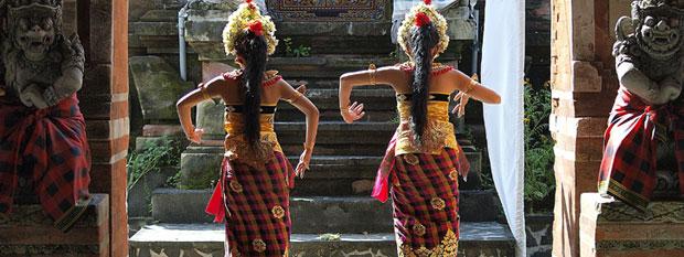 Bali Travel - Indonesian Dancers