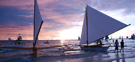 Boracay: Sunset Sailing