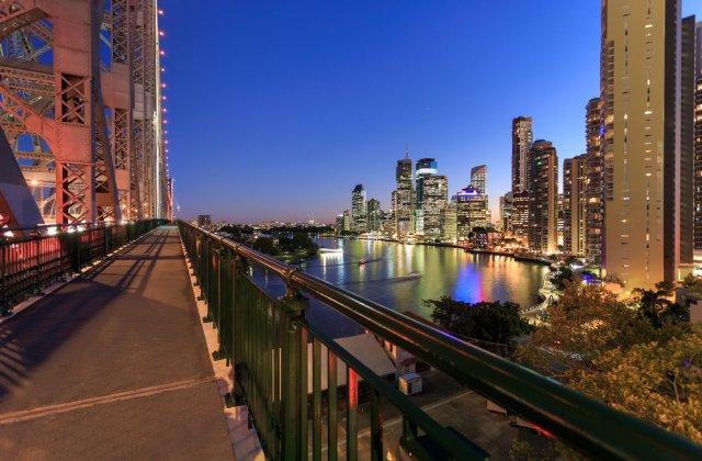 Take a walk across the Story Bridge.