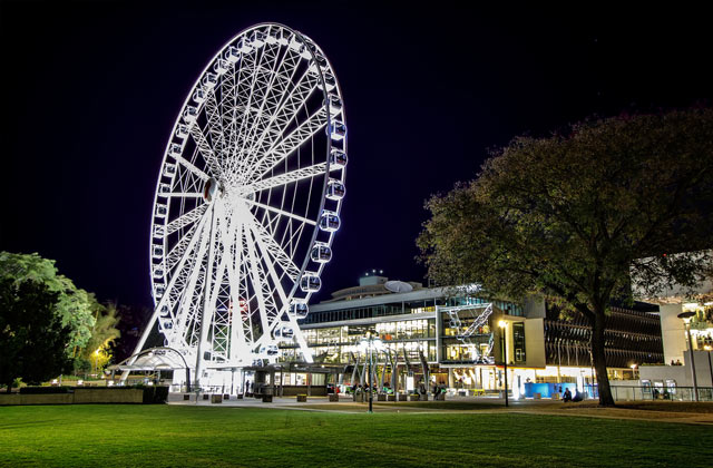 The Wheel of Brisbane, Southbank