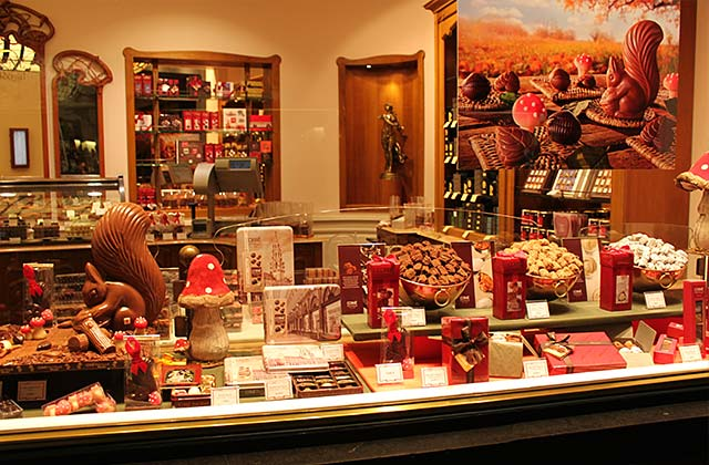 Chocolate Store, Galerie Royales Saint-Hubert