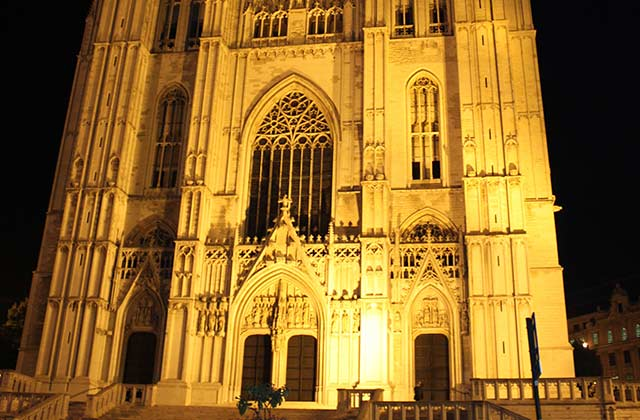 The Cathedral of St. Michael and St. Gudula | by Flight Centre's Alexandra Miu