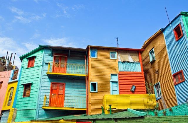 Colourful Houses, La Boca