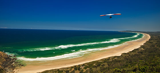 Byron Bay: Hang Glider