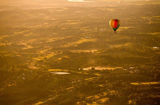 Hot Air Ballooning, Byron Bay