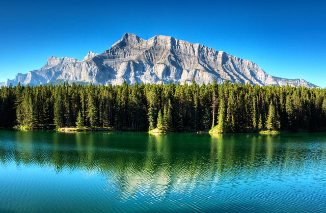 Johnson Lake, Banff National Park, Alberta
