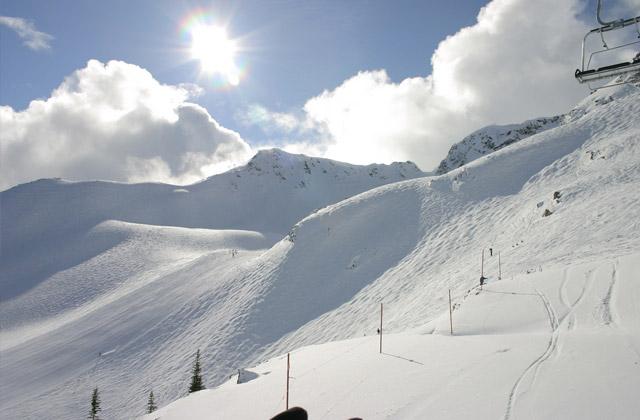 Blackomb Mountain, British Columbia