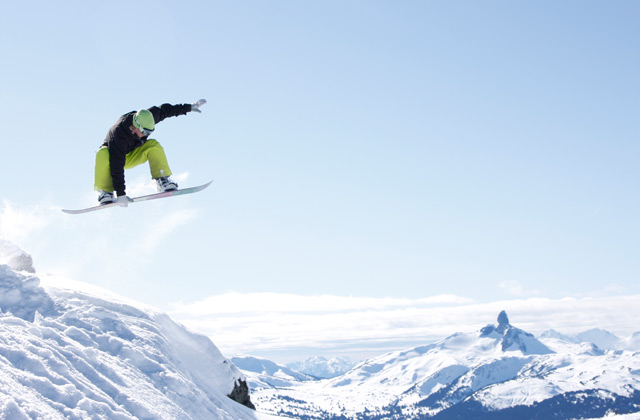 Snowboarder, Whistler | by Flight Centre's Fiona Bounsall