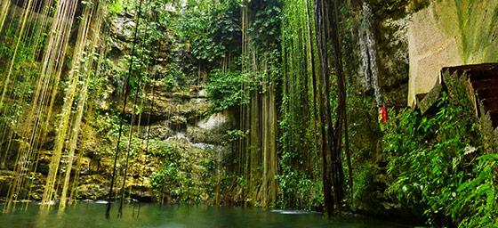 Cancun: Ik Kil Cenote