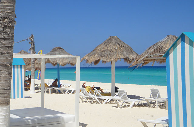 Cancun Beach with Clear Blue Waters | by Flight Centre's Jason Cassin