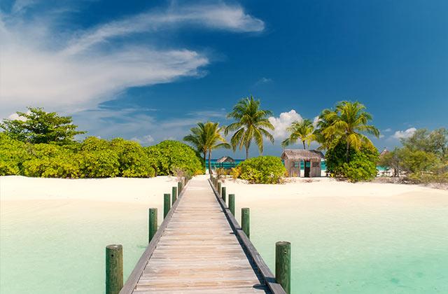 Jetty, The Bahamas