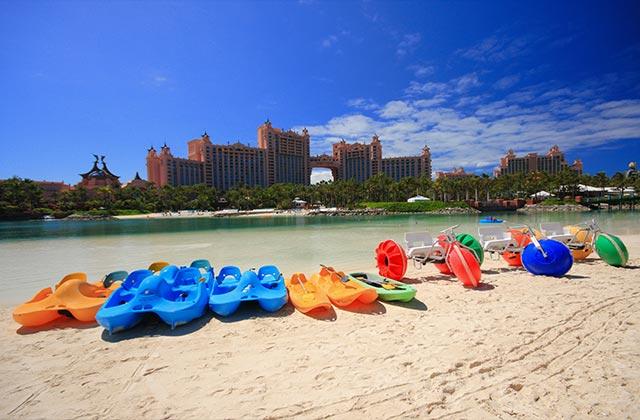 Water sports, Atlantis Hotel, The Bahamas