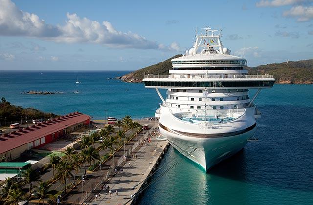Cruise Ship, St. Thomas, US Virgin Islands