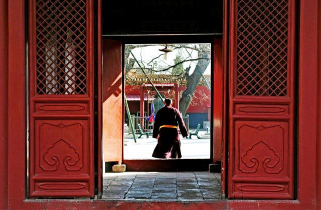 Buddhist Tibetan Monk, Lama Temple, Beijing