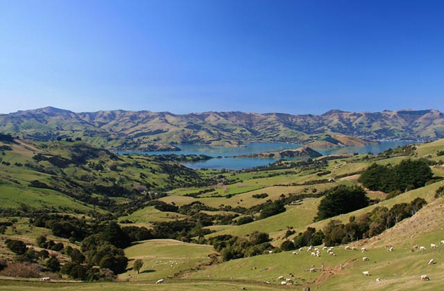 Akaroa, Banks Peninsula, a day trip from Christchurch