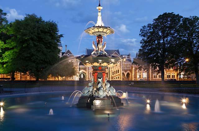 Fountain, Hagley Park
