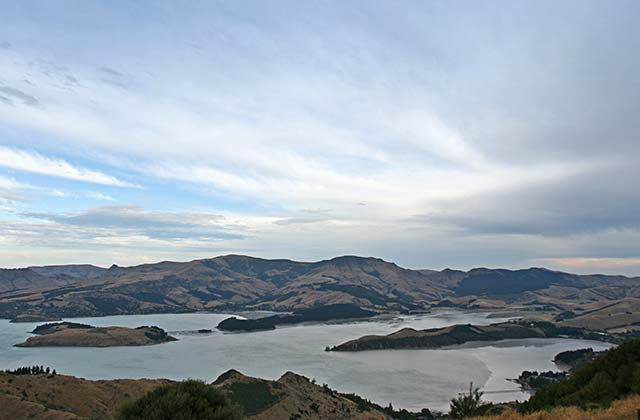 Port Hills, a day trip from Christchurch