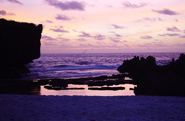 Sunrise at Lily Beach | by the Christmas Island Tourism Association © Linda Cash