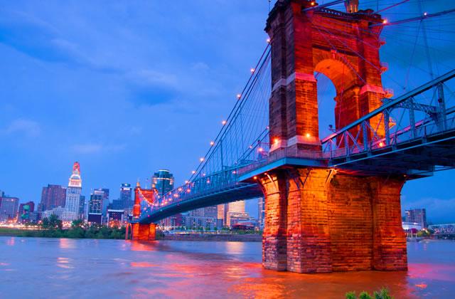 The John A. Roebling Suspension Bridge